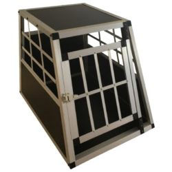 Car Pet Cage With Single Door - pawsandtails.pet