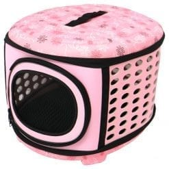 The Round Pet Carrier - pawsandtails.pet
