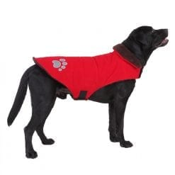 Red Reversible Coat - pawsandtails.pet