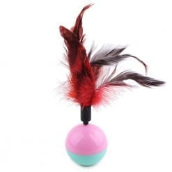 Feather Chase Ball - pawsandtails.pet