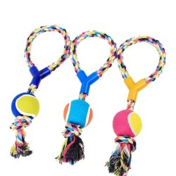 Tennis Rope Tug - pawsandtails.pet