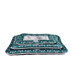 Green Cushion Mat With Arrow Pattern - pawsandtails.pet