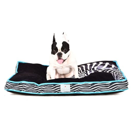 Cushion With Zebra Pattern - pawsandtails.pet