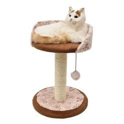 Scratching Post Raised Bed - pawsandtails.pet