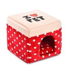 I Heart Pet Box Bed - pawsandtails.pet