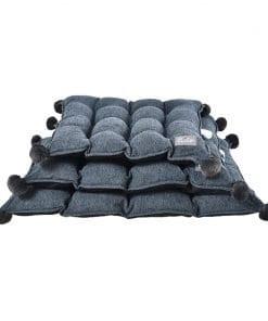 Blue Cushion - pawsandtails.pet