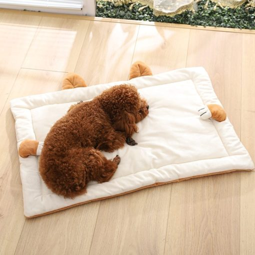 Brown Mat With Ears - pawsandtails.pet