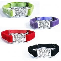 Heart Collars - pawsandtails.pet