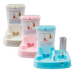 2-in-1 Automatic Food and Water Dispenser Station - pawsandtails.pet