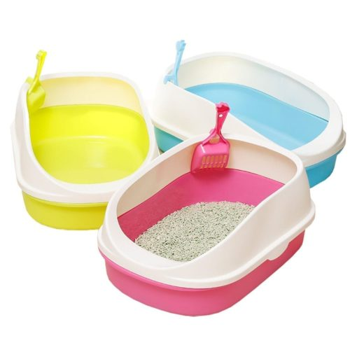Large Litter Tray With Scoop - pawsandtails.pet