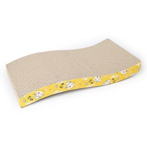 Corrugated Scratching Board – Waves - pawsandtails.pet
