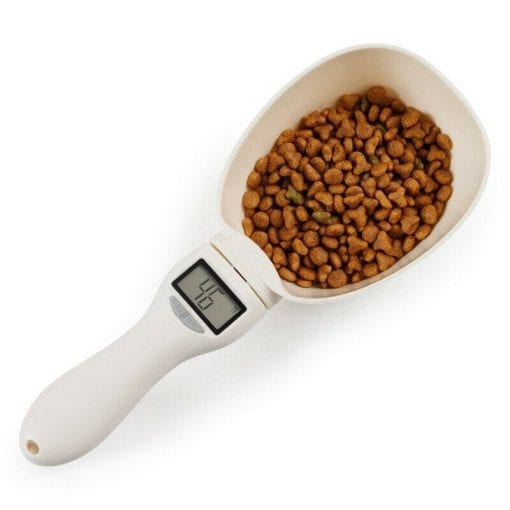 Pet Food Measuring Scoop – Weighing Scale - pawsandtails.pet