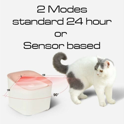 3l Automatic Mains Electric Water Drinking Filtered Fountain - pawsandtails.pet