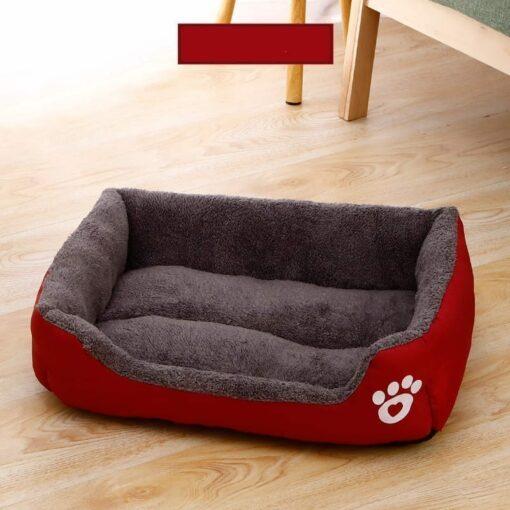 Soft Colourful Breathable Eco-friendly Fleece Pet Bed - pawsandtails.pet
