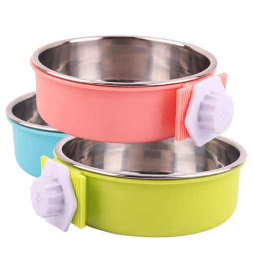 Food and Water Bowl for Pet Cages – Easy to Attach and Remove - pawsandtails.pet