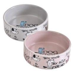 Ceramic Best Friend Pet Bowl for Dog – Food or Water Bowl - pawsandtails.pet