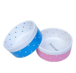 Prince or Princess Ceramic Pet Bowl for Dog or Cat - pawsandtails.pet