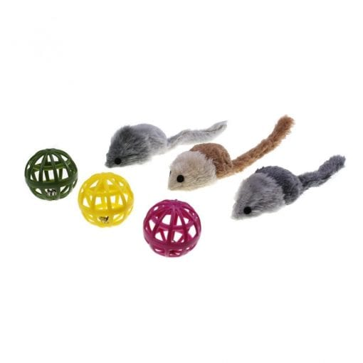Mice Toy Pack for Cats - pawsandtails.pet