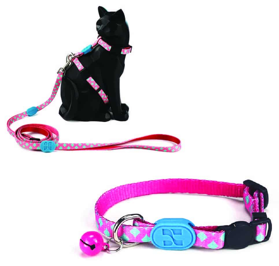 Cat Bobby Pink Lead harness