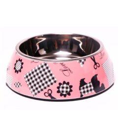 Scotty Dog Print Pet Bowl