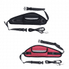 Dog Bum Bag Black and red